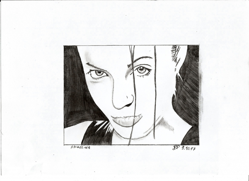 Angelina Jolie by Patoux